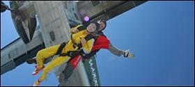 Fallschirmspringen als Tandemsprung