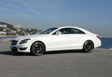 aaa luxury rent new mercedes cls 63 amg 4